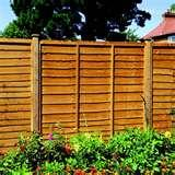 photos of Fixing Fence Panels To Posts