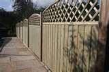 pictures of Fixing Fence Panels To Posts