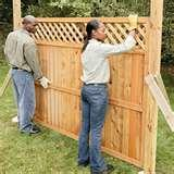 Fence Panels At Home Depot photos