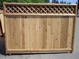 pictures of Fence Panels Cedar