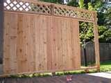 Fence Panels Cedar photos