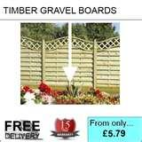 Fence Panels And Gravel Boards