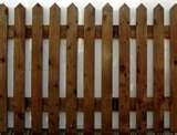 pictures of 2ft Picket Fence Panels