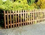 photos of 2ft Picket Fence Panels