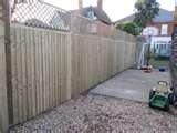 images of 2ft Picket Fence Panels