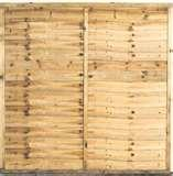 pictures of Wood Fence Panels Available