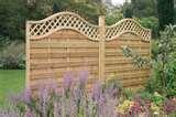 images of Trellis Fence Panels