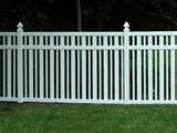 Plastic Fencing Panels