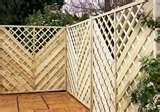 pictures of Trellis Fence Panels