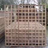 images of Lattice Fence Panels