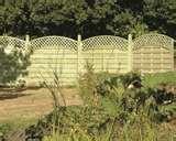 photos of Trellis Fence Panels