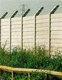 Concrete Panel Fencing pictures