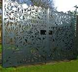 images of Decorative Fence Panels