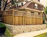 pictures of Fence Panels Wood