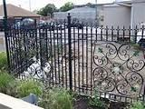 Wrought Iron Fence Panel Designs pictures