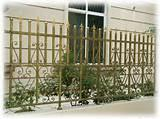 photos of Wrought Iron Fence Panel Designs