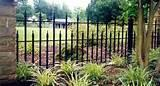 Wrought Iron Fence Panel Designs images