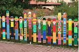 photos of Fence Panel Decor