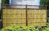 pictures of Privacy Fence Panel Designs