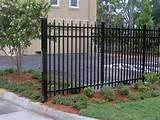 images of Wrought Iron Fence Panel Designs