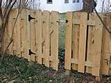 How To Build A Fence Panel Gate pictures