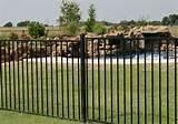photos of Aluminum Fence Panel Houston