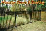 Aluminum Fence Panel Houston pictures
