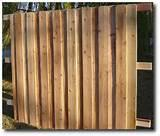 photos of Fence Panel Wood Posts